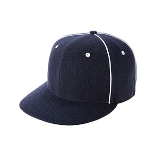 wholesale pro style wool look baseball cap flat bill