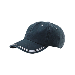 7677-Low Profile (Uns) Washed Cotton Twill Cap