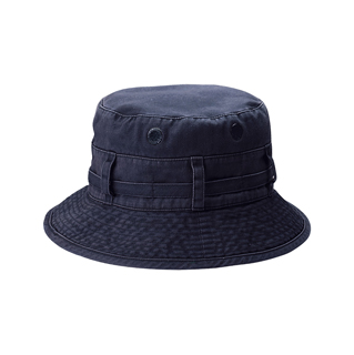 7803-Pigment Dyed Twill Washed Bucket Hat