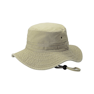 7804-Pigment Dyed Twill Washed Bucket Hat