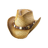 Outback Tea Stained Straw Cowboy Hat