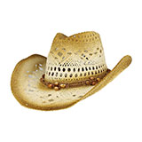 Outback Paper Straw Cowboy Hat