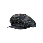 Satin Tapestry Newsboy Cap