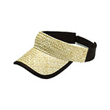 Straw Trucker Visor