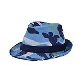 Camouflage Fedora Hat