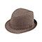 Main - 8928-Herringbone Fedora Hat