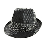Jacquard Fedora Hat
