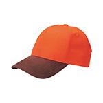 6 Panel Low Profile (Str) Neon Orange Cap