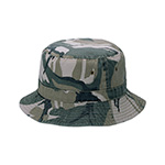 Camouflage & Twill Washed Reversible Hunting Hat