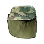 Army Cap With Removable Flap