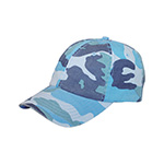 Enzyme Washed Camouflage Cap