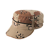 Enzyme Washed Cotton Twill Army Cap