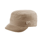 Cotton Twill Washed Army Cap