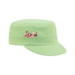 Youth Peach Feel Cotton Fidel Army Cap