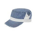 Washed Stripe Denim Fidel Army Cap