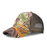 Low Profile (Str) Camouflage Canvas Mesh/Cap