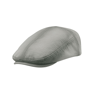 2140-Heavy Washed Pinstripe Cotton Ivy Cap