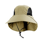 Juniper Large Bill Flap Cap w/ Mesh Side Panels