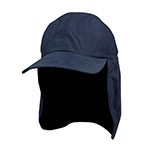 Juniper Brushed Microfiber Cap w/ Flap