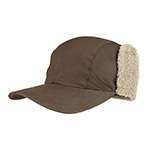 Juniper Waxed Cotton Canvas Cap w/ Ear Flap