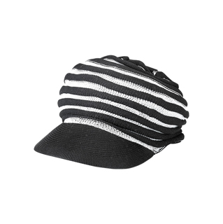 2507-Knitted Newsboy Cap