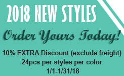 2018 New Styles Promotion