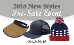2016 New Styles Pre-Sale